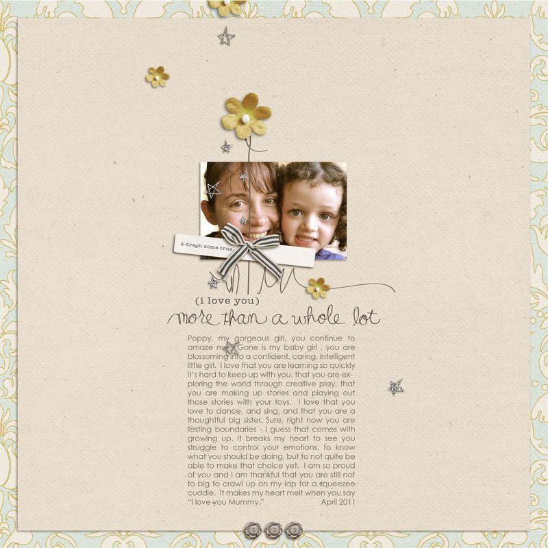 I Love you Poppy blog